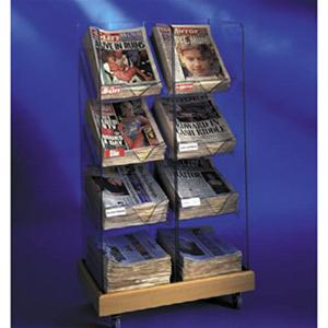Newspaper Racks - Twin Tower