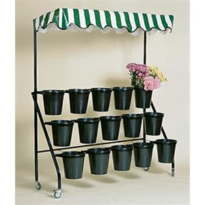 Original Range 15 Bucket Stand With Canopy