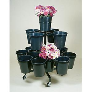 Tower Range 17 Bucket Round Stand