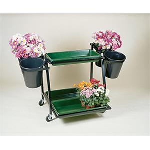 Plant Range 4 Bucket Stand With 3 Trays