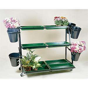 Plant Range 6 Bucket Stand With 8 Trays