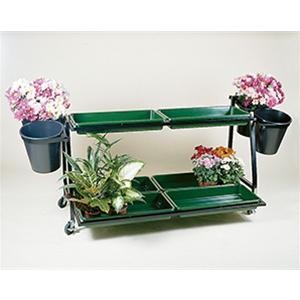 Plant Range 4 Bucket Stand With 6 Trays