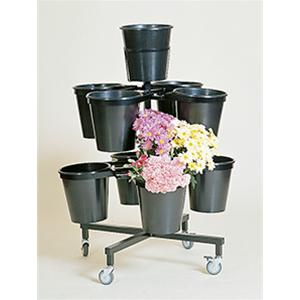 Tower Range 9 Bucket Round Stand