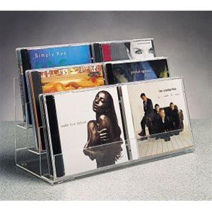 CD & Tape Display Unit - 3 Pack