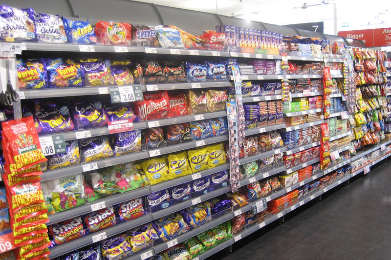 Confectionary Shop Shelving