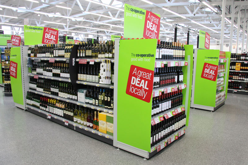 Supermarket Shelving & Wine Shelving