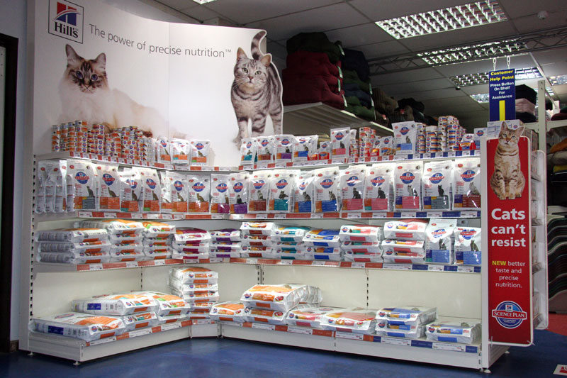 Pet Shop Shelving